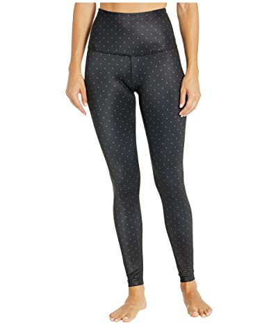 Beyond Yoga Lux Print High Waist Leggings (Front Runner Dot Black) Women