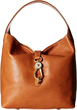 Florentine Classic Logo Lock Shoulder Bag