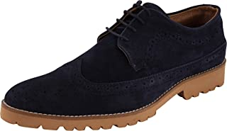 Auserio Men's Leather Brogue Shoes