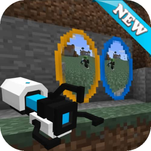 Portal Gun Mod for Minecraft PE