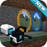 Portal Gun Mod for Minecraft PE