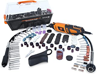 WEN 23190 1.3-Amp Variable Speed Steady-Grip Rotary Tool with 190-Piece Accessory Kit,..