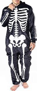 Mono unisex para niños con diseño de tiburón esqueleto de tiburón pijama para Halloween ropa de salón Supersuave de forro polar