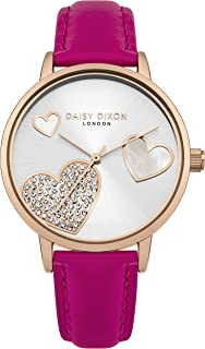 Daisy Dixon Womens Analogue Classic Quartz Watch with Leather Strap DD076PRG