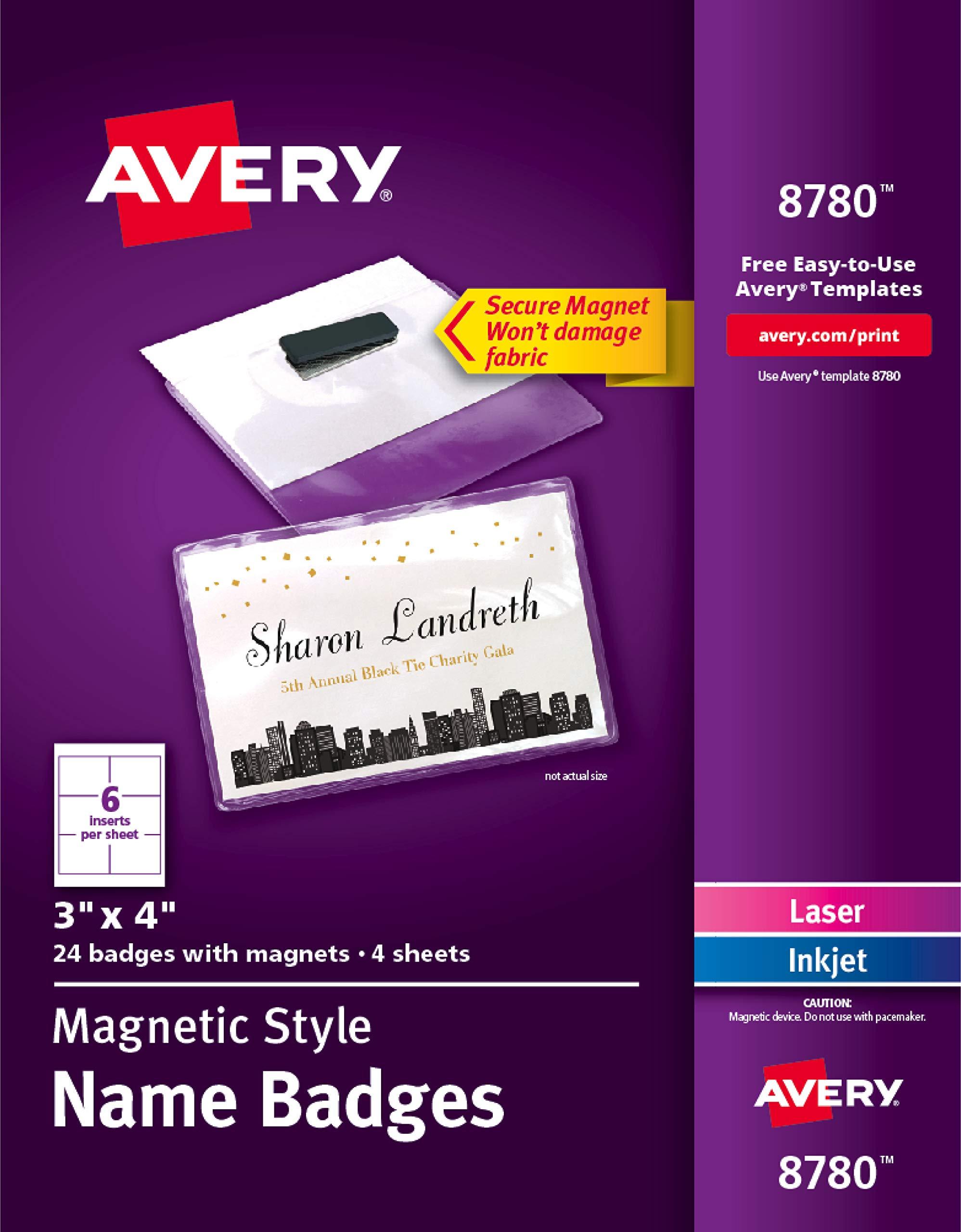 Avery Magnetic Durable Plastic Heavy Duty