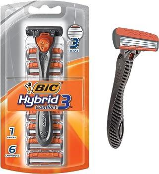 BIC Hybrid3 Comfort Men&#39s Disposable Razor