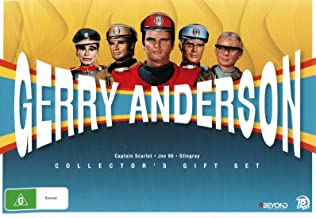 Gerry Anderson Collection - 15-DVD Box Set ( Stingray / Joe 90 / Captain Scarlet and the Mysterons ) ( Sting ray / Joe Ninety / Captain Scarlet & the [ NON-USA FORMAT, PAL, Reg.0 Import - Australia ]