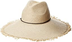 Panama Hat with Tassel Trim