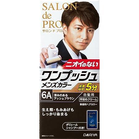 サロン ド プロ ワンプッシュメンズカラー (白髪用) 6A <深みのあるアッシュブラウン> [医薬部外品]