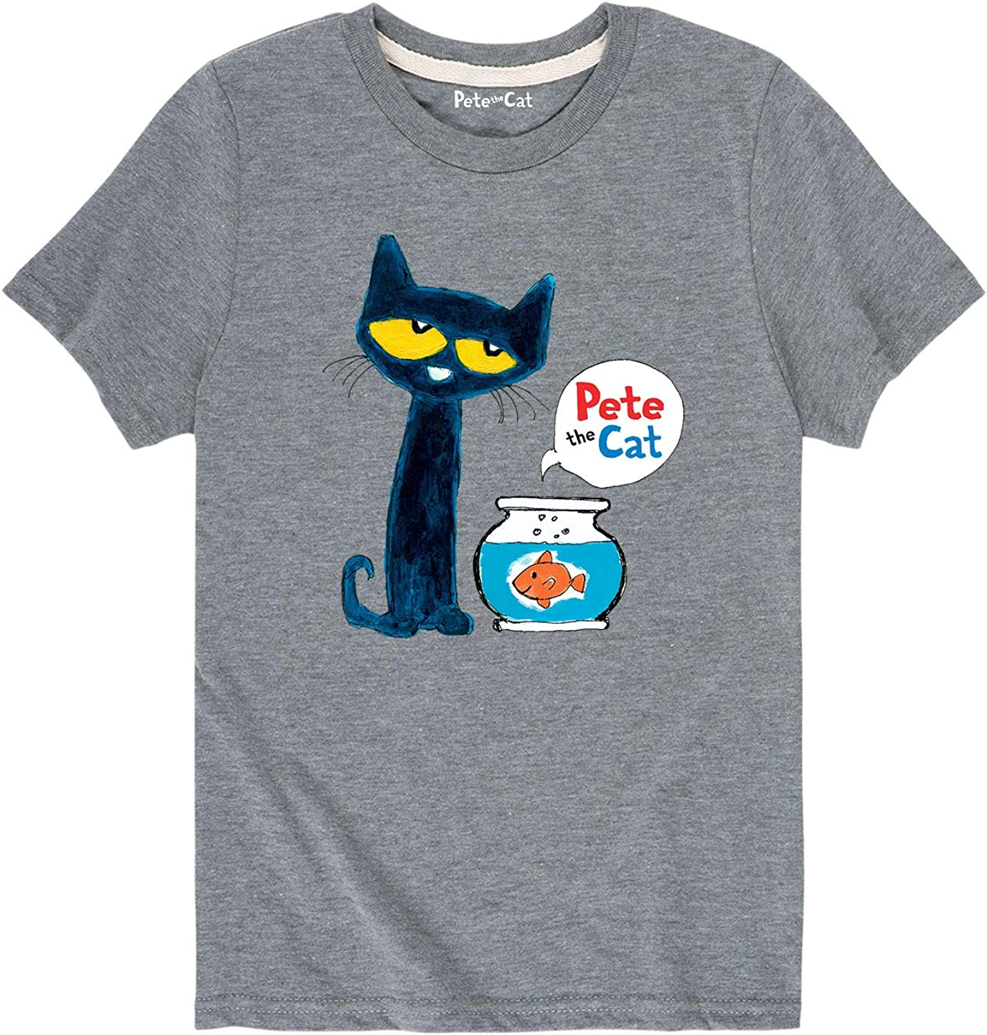 Pete the Cat Pete The Goldfish Youth Short Sleeve Tee