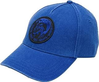 Diesel Cindi Cappello Baseball Cap Hat in Blue, Adjustable Back