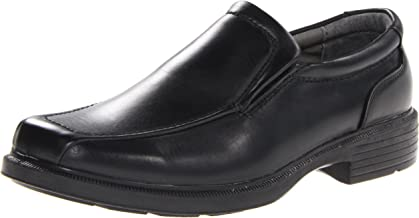 Best mens black slip on dress shoes Reviews