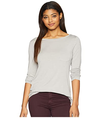 Prana Foundation Long Sleeve Tunic (Light Grey Heather) Women