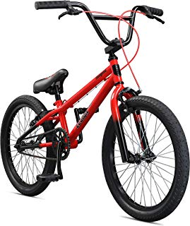 Mongoose Legion Sidewalk Freestyle BMX Bike for Kids, Children and Beginner-Level Riders, Featuring Hi-Ten Steel Frame, Micro Drive 25x9T or 36x16T BMX Gearing, and 16-18-20-Inch Wheels
