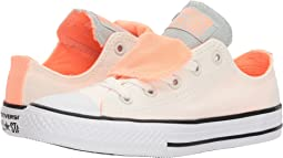 Chuck Taylor All Star Double Tongue Ox (Little Kid/Big Kid)