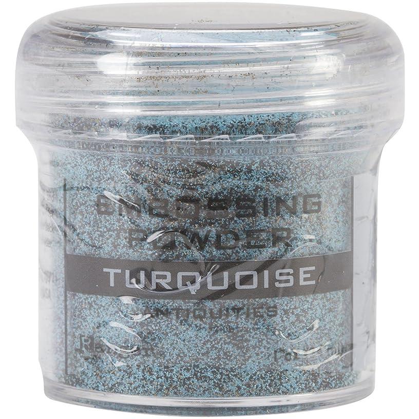Ranger Embossing Powder, 1-Ounce Jar, Turquoise