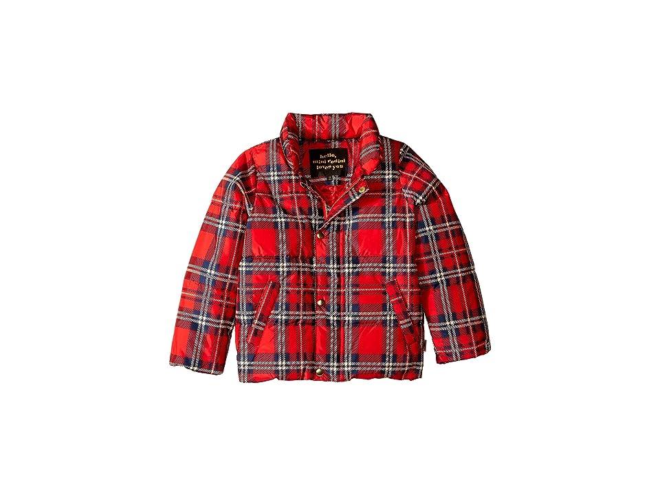 mini rodini - mini rodini Check Puffer Jacket
