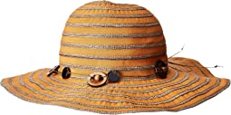 RBM5558 Ribbon Sun Brim Hat