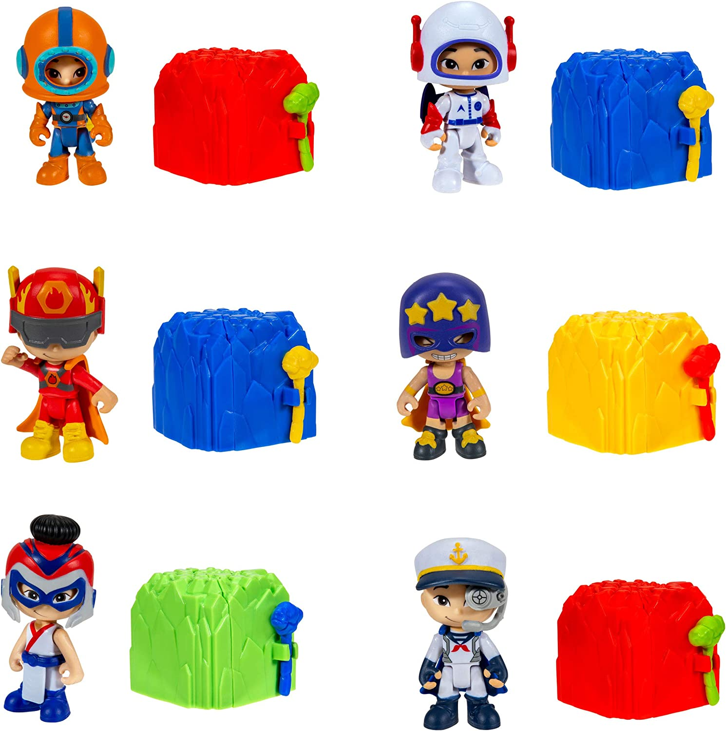 CKN Toys Hero Large NEW before selling discharge sale Smash Build 6 - Pack Racer Exclusive Pilot