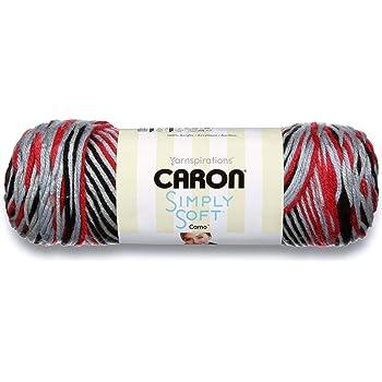 142 gr Color Avocado Avocado Caron International 29402222003 Simply Soft gomitolo di Filato ombr/é