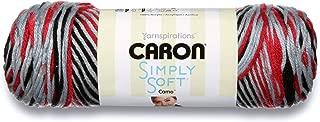 Caron International Caron Simply Soft, 5 Oz, Red Camo