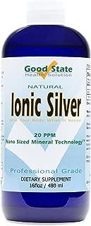 Good State Liquid Ionic Silver (96 servings at 100 mcg - 16 fl oz)