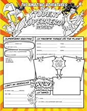 North Star Teacher Resource NST3092 Fill Me In: Student Superhero! Activity Posters, Pack of 32