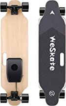 """WeSkate 35"""" Electric Skateboard Longboard with Remote Controller, 3 Speed Adjustment, 12 MPH Top Speed, 350W Single Motor, 10 Miles Range, Load up to 220Lbs, 8 Layers Maple"""