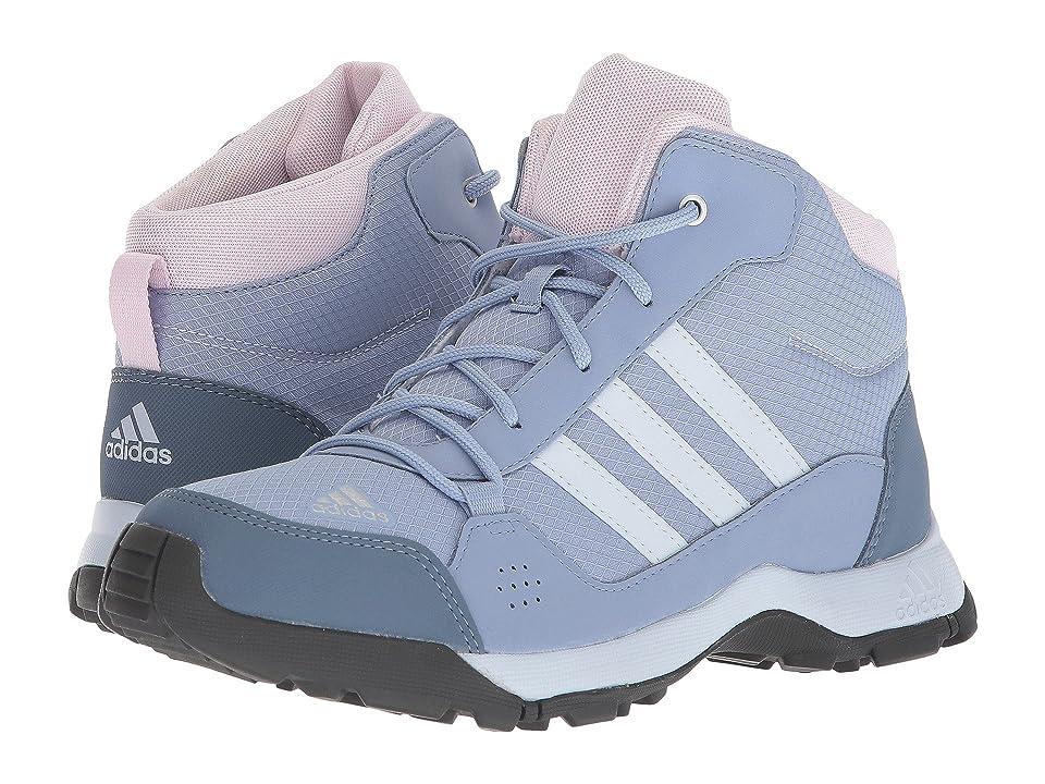 Image of adidas Outdoor Kids Hyperhiker (Little Kid/Big Kid) (Chalk Blue/Aero Blue/Aero Pink) Girls Shoes