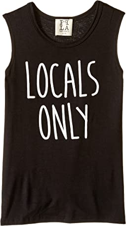 For The Locals Tank Top (Big Kids)