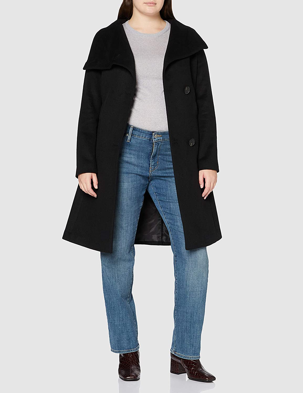 ESPRIT Collection Damen Jacke 001/Black