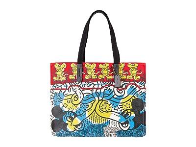 COACH Coach X Disney Keith Haring Tote 42 in Multi Print