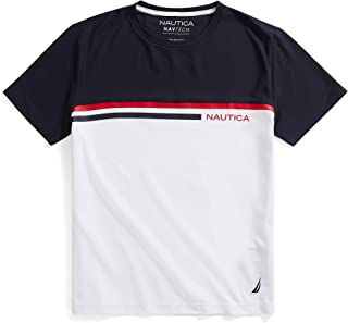 Nautica Navtech Colorblock - Playera para Hombre Camiseta pa