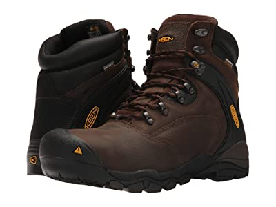 Keen Utility Louisville 6 Steel Toe (Cascade Brown) Men