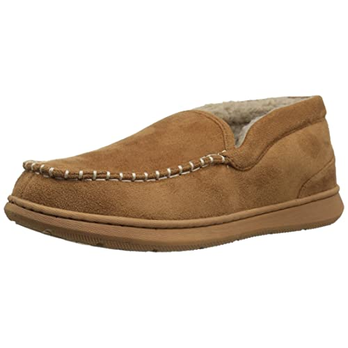 Dockers Mens Craig Ultra-Light Mid Moccasin Premium Slippers