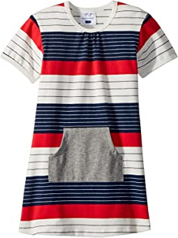 Stars and Stripes Pocket Dress (Infant/Toddler)