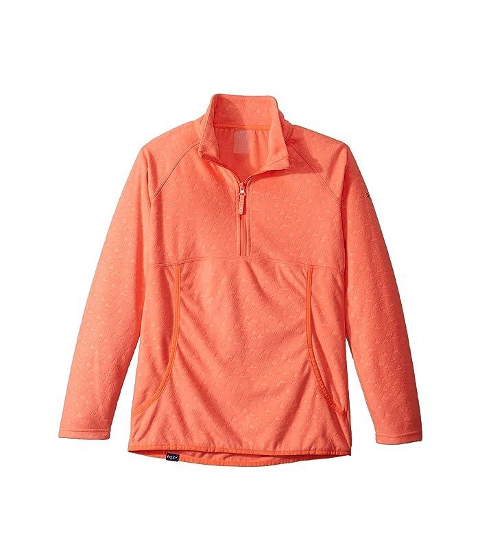 Roxy Kids  Cascade Fleece (Big Kids) (Living Coral Rising) Girls Sweatshirt