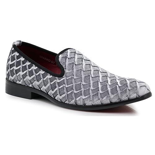 0f684e214e49c Men's Gray Dress Loafers: Amazon.com