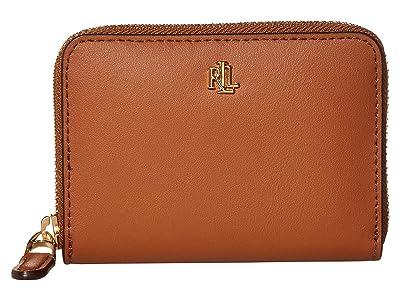 LAUREN Ralph Lauren Small Zip Wallet (Lauren Tan) Wallet Handbags