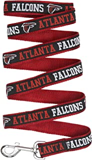 NFL Atlanta Falcons Black Woven Team Pet Leash