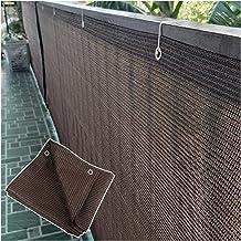 PENGFEI Schaduwdoek Sunblock Shading Net, dikker HDPE materiaal Met D-ring gesp, Outdoor binnenplaats balkon warmte-isolat...