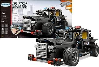 Toy Essentials 464 Pieces Black Battle Police Car Remote...
