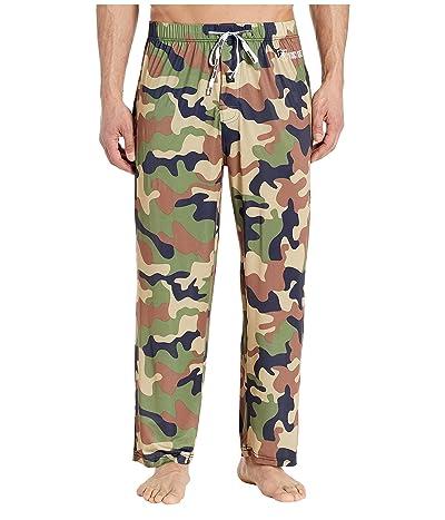 Stacy Adams Regular Sleep Pants (Army Green Camo) Men