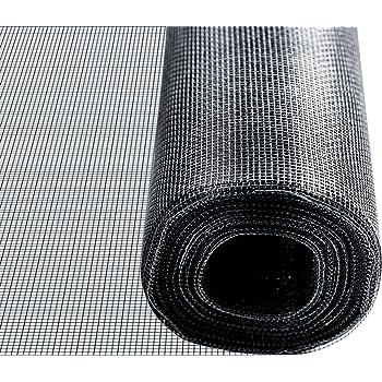 1,0m x 1,2m, Grau Insetto Fliegengitternetz aus Fiberglasgewebe UV- und witterungsbest/ändig