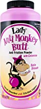 Lady Anti Monkey Butt   Women's Body Powder with Calamine   Prevents Chafing and Absorbs Sweat   Talc Free   6 Ounces   Pack of 1