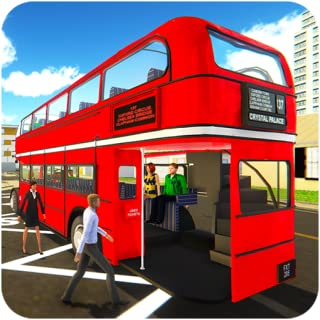 Uphill Off Road Driving Bus Game Simulator : real city coach Bus Driver Jumbo vehicles wonderful interiors routes articulated double school buses desert double snow mountainous environment