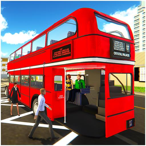 Uphill Off Road Driving Bus Spiel Simulator: echte Stadtbus Bus Driver Jumbo Fahrzeuge wunderbare Innen-Routen gelenkten Doppel-Schulbussen Wüste Doppelschnee bergigen Umgebung