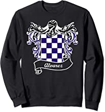 Alvarez Coat of Arms surname last name family crest Sweatshirt