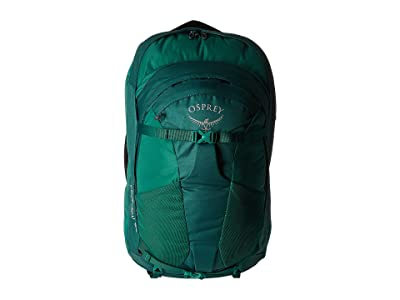 Osprey Fairview 55 (Rainforest Green) Backpack Bags
