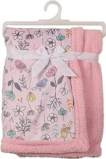 baby girl sherpa blanket